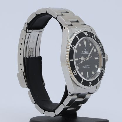 "Rolex Submariner no date Two-Liner ""Swiss Only"" 14060"