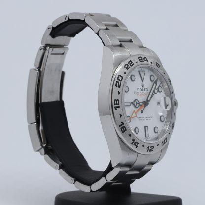 Rolex Explorer II 216570 White Dial