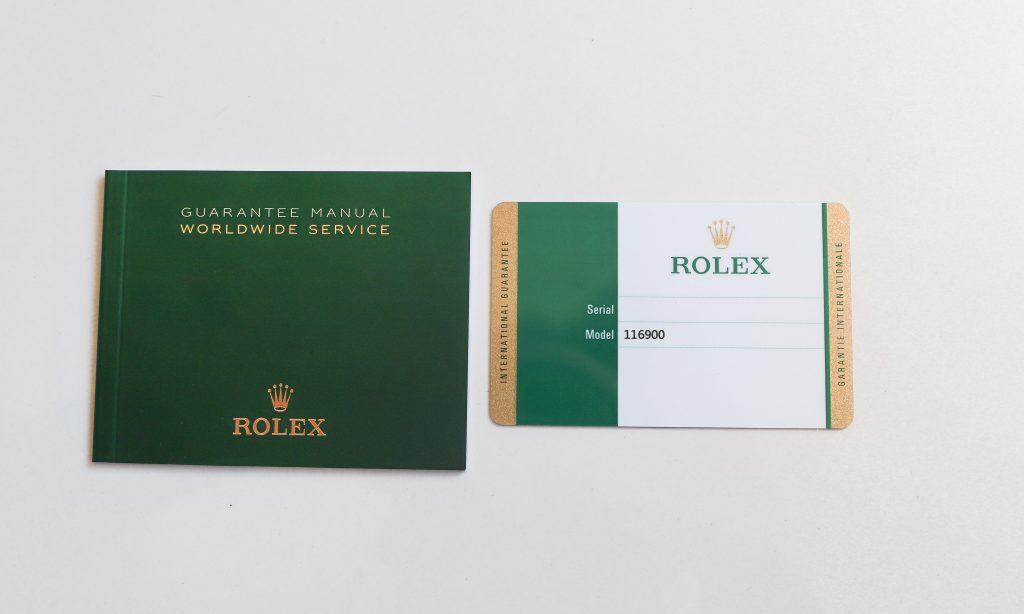 Rolex Warranty