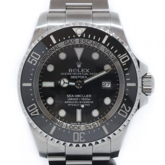 Rolex Deepsea Sea-Dweller Black Dial 126660 2018