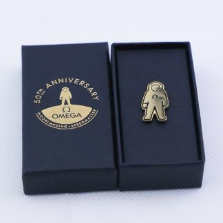 Omega Apollo 11 Moon Landing 50th Anniversary Novelty Pin lapel pin