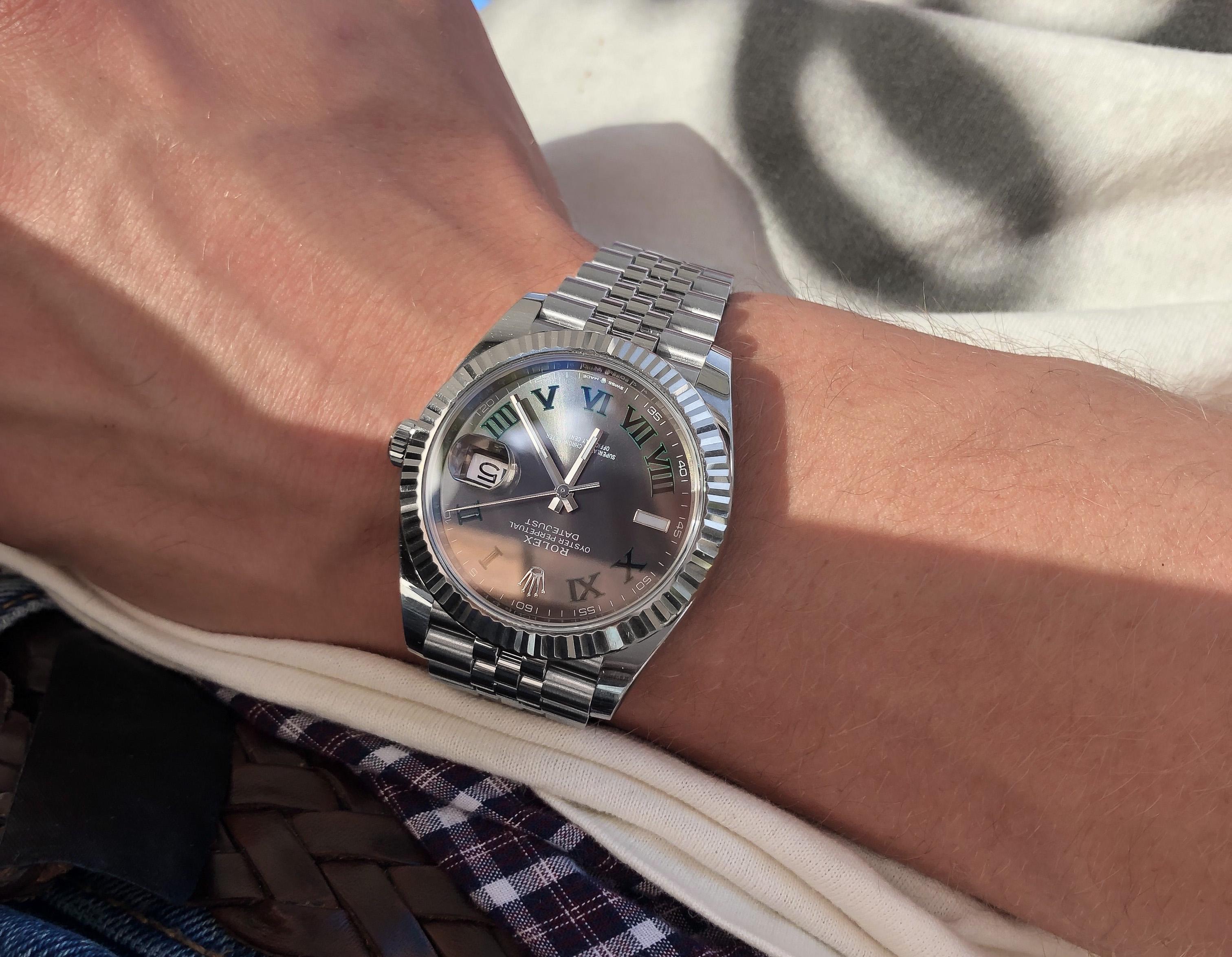 Rolex Datejust 41 126334 Wimbledon