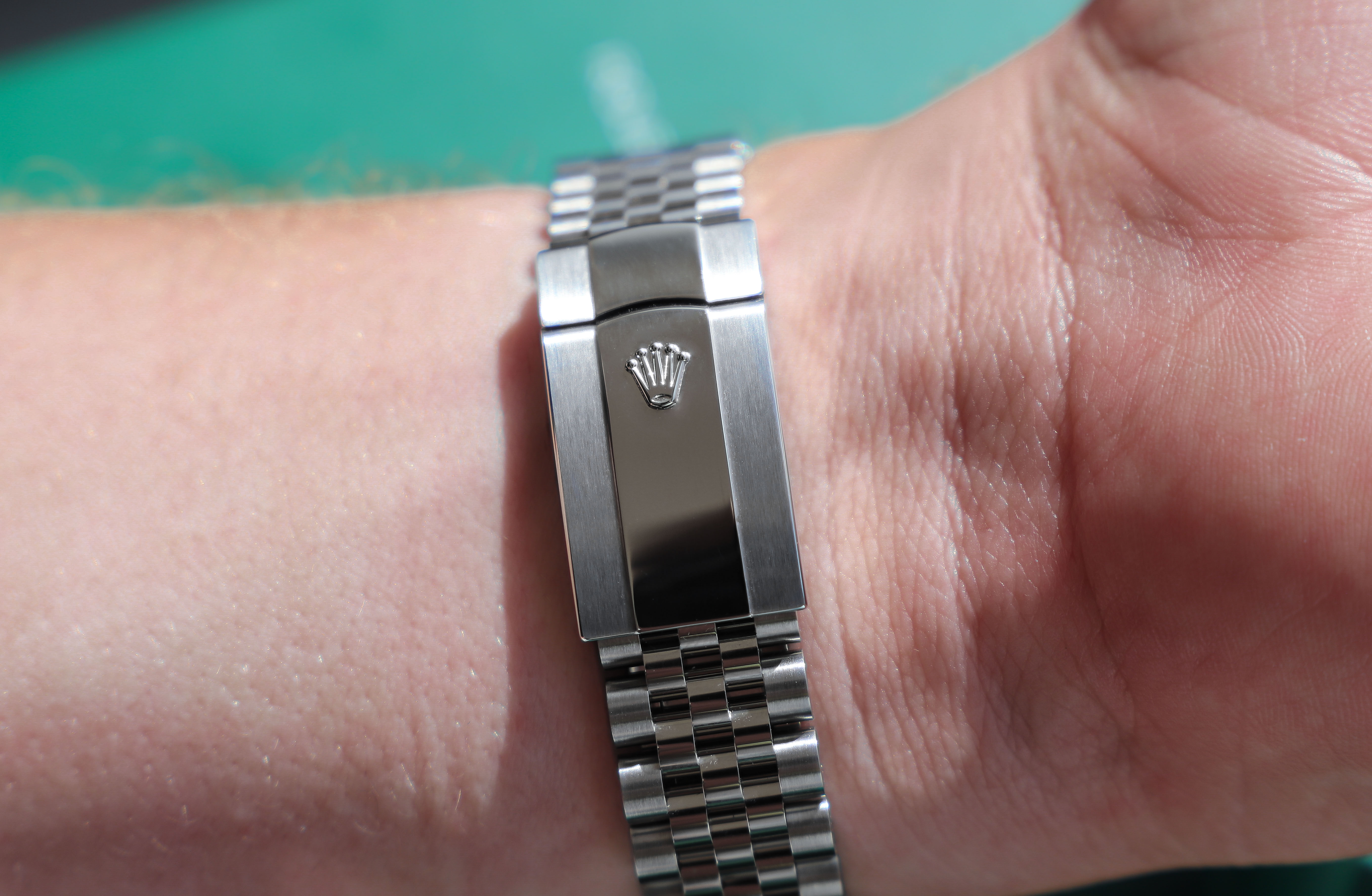 Rolex Jubilee oyster clasp