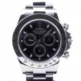 Rolex Cosmograph Daytona Chromalight 116520 Black Dial 2015