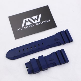 Panerai OEM Original Rubber Strap 26 MM Blue