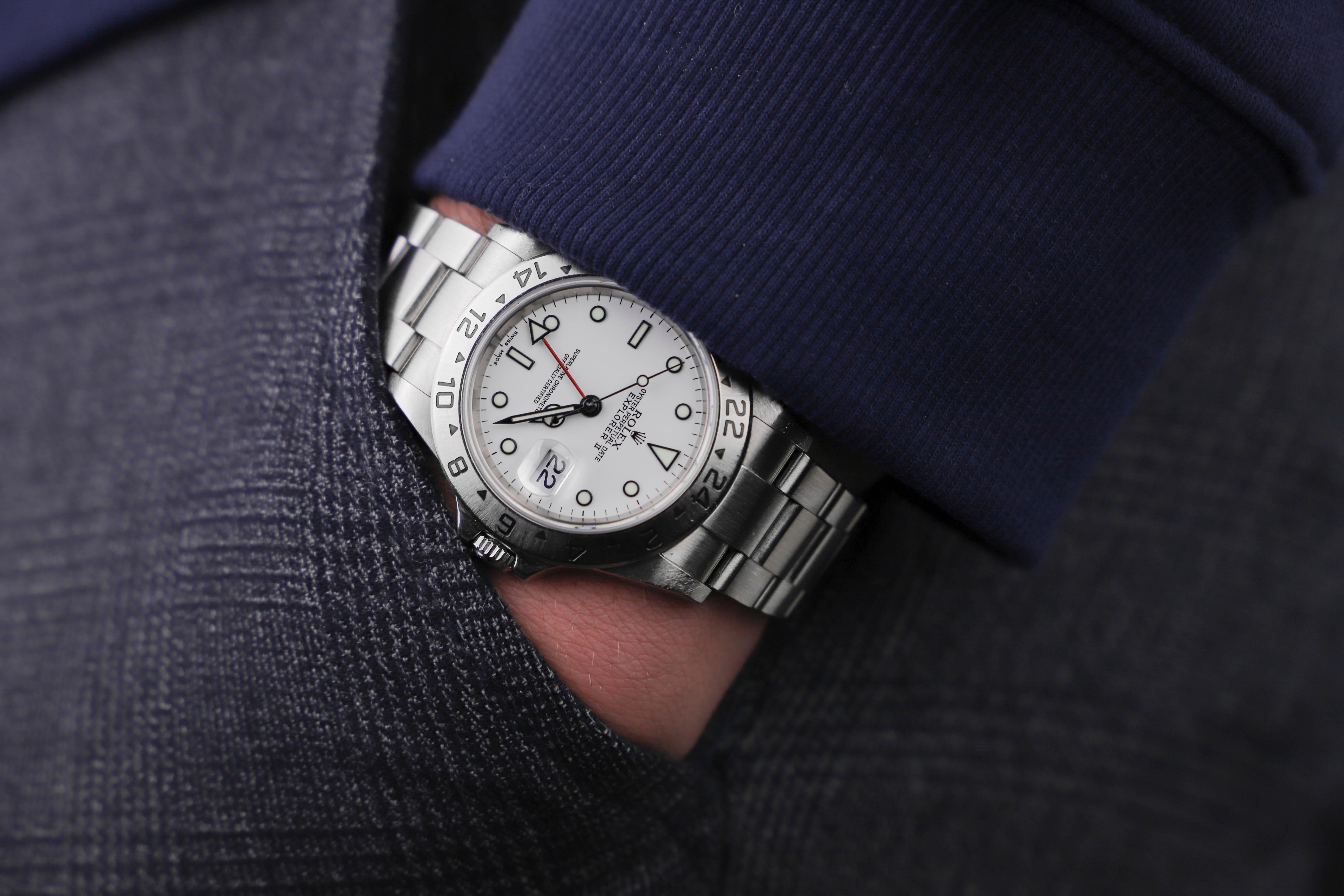 Rolex Explorer 16570 Polar