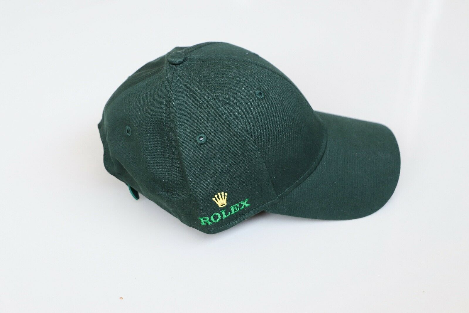 brand new never used Green Rolex cap with logo on both sides.