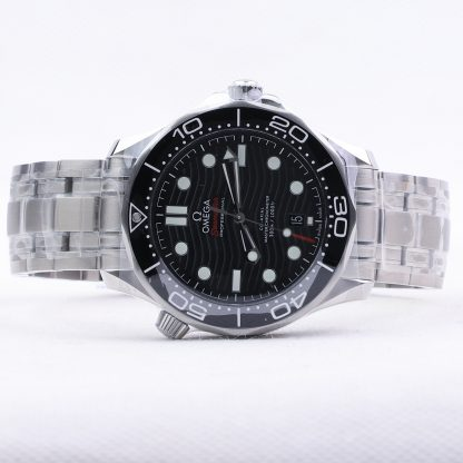 Omega Seamaster Diver 300 M Black Dial New 2019