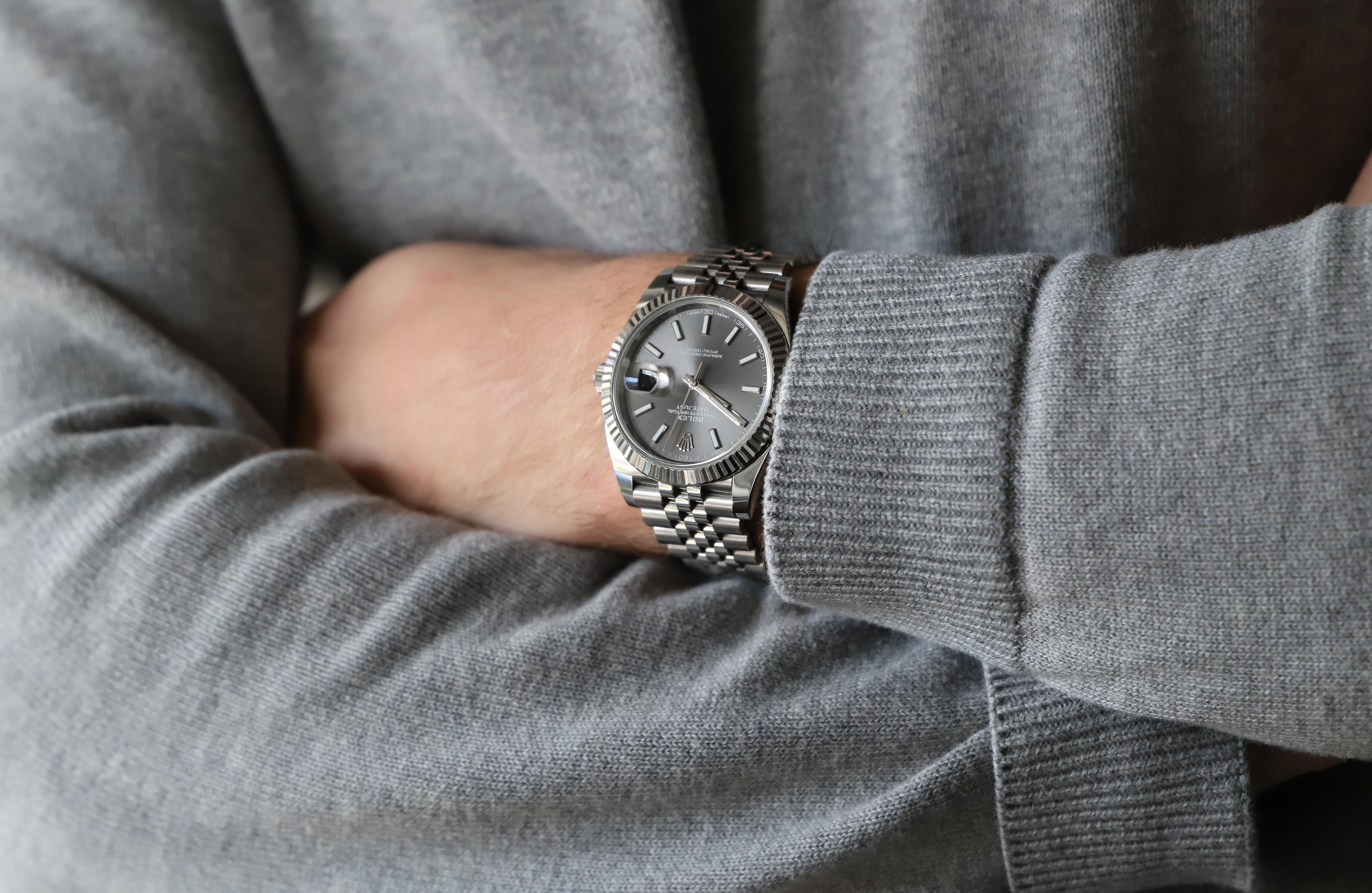 Rolex Datejust 126334 Rhodium