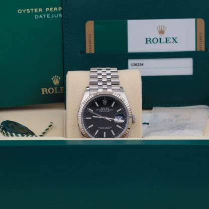 Rolex Datejust 36mm Jubilee Black Dial 126234 Unworn 2019