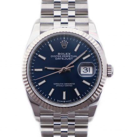 Rolex Datejust 36mm Jubilee Blue Dial 126234 Unworn 2019