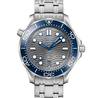 Omega Seamaster Diver 300 M Grey Dial 42mm New 2019 210.30.42.20.06.001