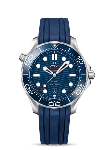 Omega Seamaster Diver 300 M Blue Dial 43.5mm New 2019 210.32.42.20.03.001