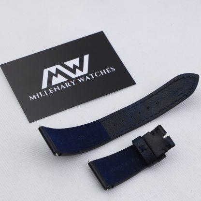 Tudor Original Black Bay Blue Leather Strap 22mm