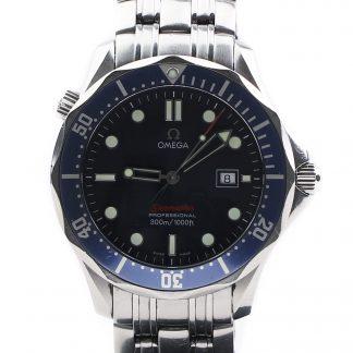 Omega 2221.80.00 Seamaster James Bond Quartz in Steel with Blue Dial