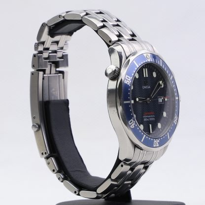 Omega 2221.80.00 Seamaster James Bond Quartz in Steel with Blue Dial