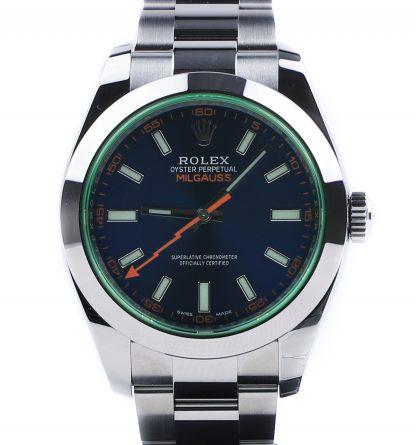 """Rolex Milgauss """"Z-Blue"""" 116400GV Unworn 2019"""