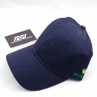 Blue Original Rolex Cap Brand new Double sided logo