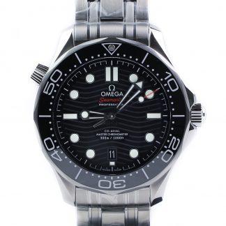 Omega Seamaster Diver 300 M Black Dial Unworn 2019