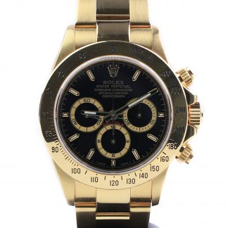 Rolex Daytona Zenith Yellow Gold 16528 1995