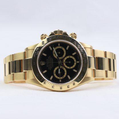 Rolex Daytona Zenith Yellow Gold 16528 1995