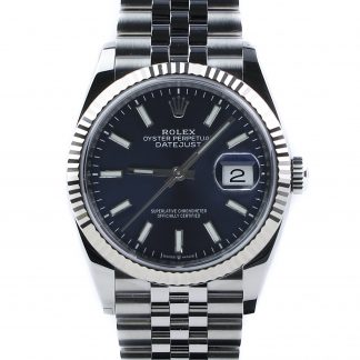 Rolex Datejust 36mm Jubilee Blue Dial 126234 Unworn 2019