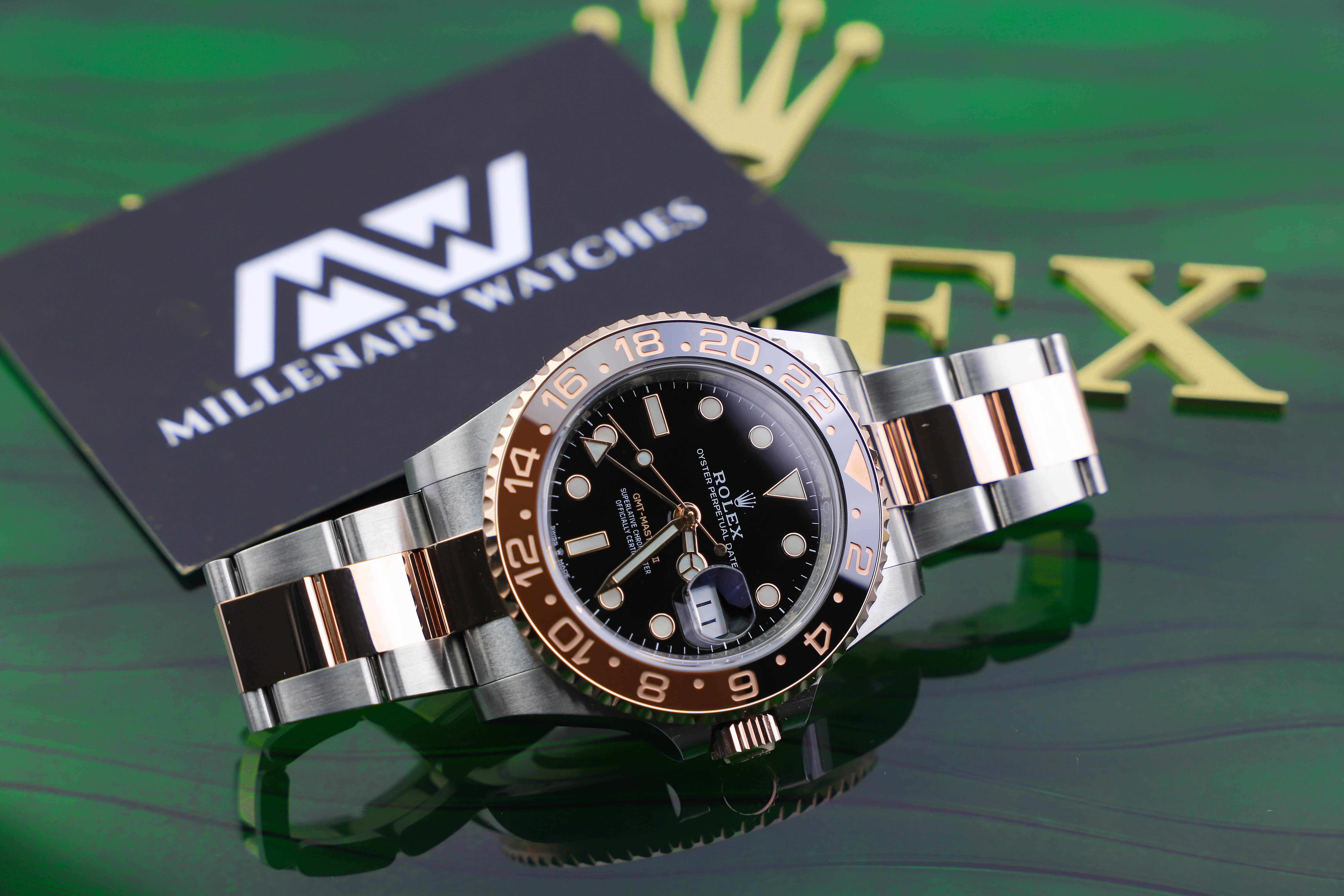 Rolex GMT-Master II 126711CHNR ROOT BEER