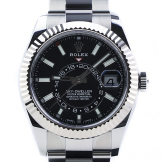 Rolex Sky-Dweller 326934 Black Dial Unworn Nov 2019