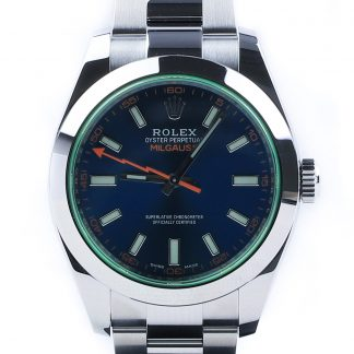 "Rolex Milgauss ""Z-Blue"" 116400GV New 2019"
