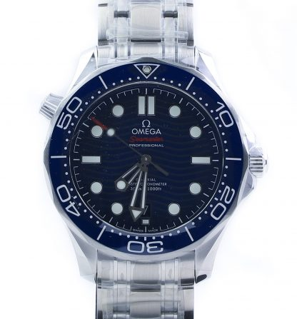 Omega Seamaster Diver 300 M Blue Dial New 2019