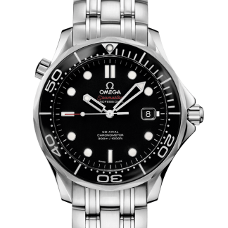 Omega Seamaster Diver 300 M Co-Axial 41mm Black NOS New 2019
