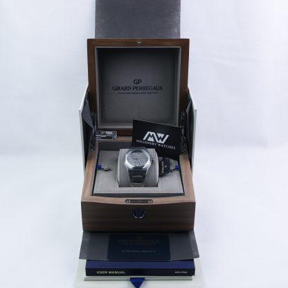 Girard Perregaux Laureato 42mm Grey Dial New 2019