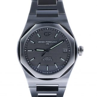 Girard Perregaux Laureato 42mm Grey Dial New 2019