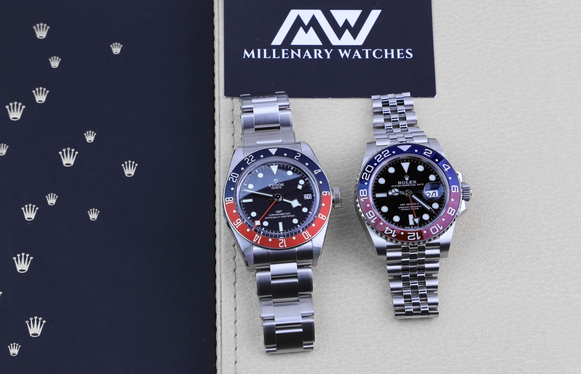 Rolex GMT VS Tudor GMT