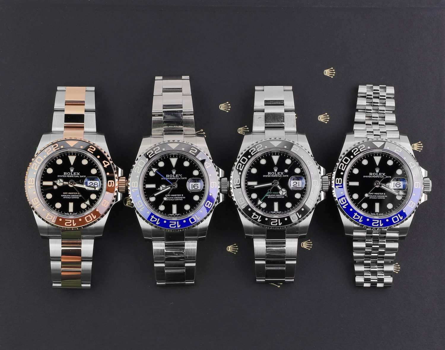 Rolex sports watch collection
