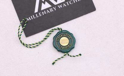 Rolex Superlative Chronometer COSC hang tag