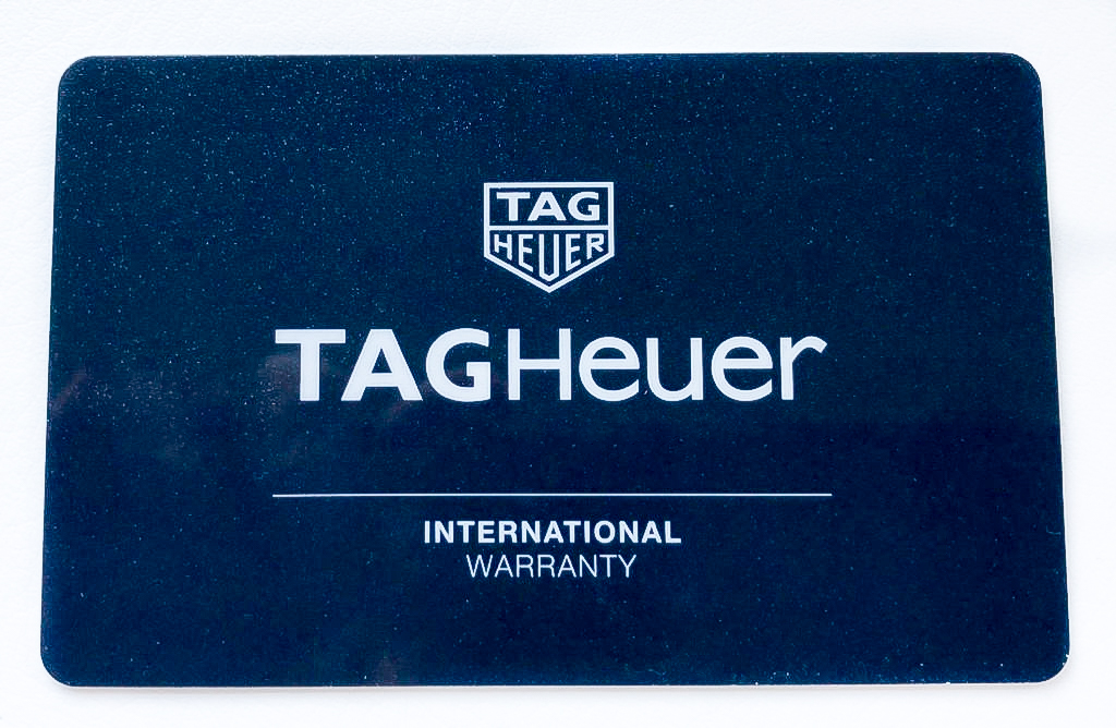 Tag Heuer warranty