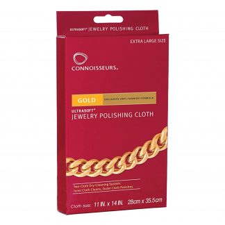 Connoisseur Watch Polishing Cloth Gold