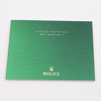 Rolex Oyster Perpetual GMT-Master II Manual Booklet 2014