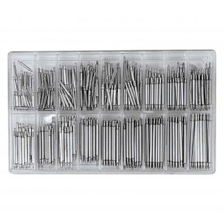 SE Professional Stainless Steel Spring Bar Set (360 PC)