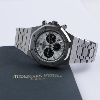 Audemars Piguet Royal Oak Chronograph White Dial 26331ST.OO.1220ST.03 2019