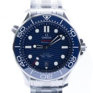 Omega Seamaster Diver 300 M Blue Dial New 2020