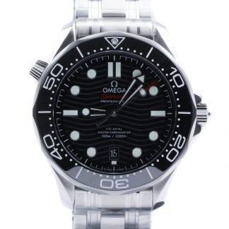 Omega Seamaster Diver 300 M Black Dial New 2020