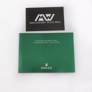 Rolex Oyster Perpetual Cosmograph Daytona manual booklet