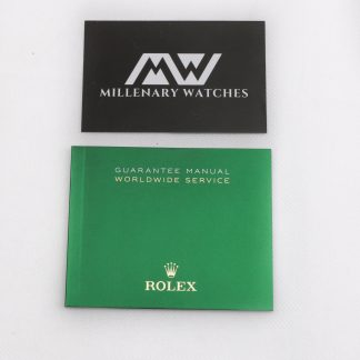 Rolex worldwide service guarantee manual