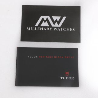 Tudor heritage black bay 41 booklet