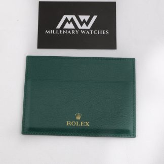 Original Rolex warranty card holder
