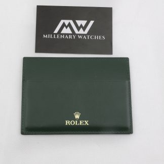 Rolex warranty card holder