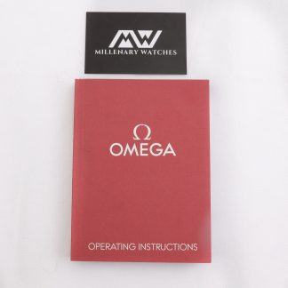 Omega operating instructions manual