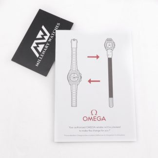 Omega Speedmaster Apollo 11 50th anniversary strap changing guide